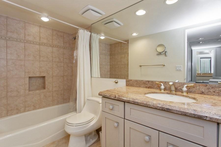 Real Estate Photography - 701 E. Camino Real, #11F, Boca Raton, FL, 33432 - Master Bathroom