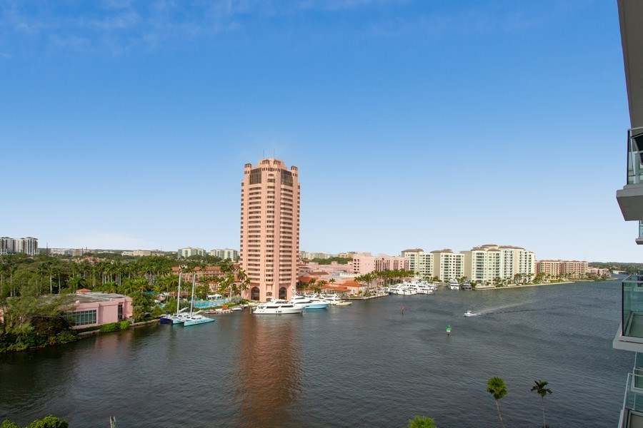 Real Estate Photography - 701 E. Camino Real, #11F, Boca Raton, FL, 33432 - View