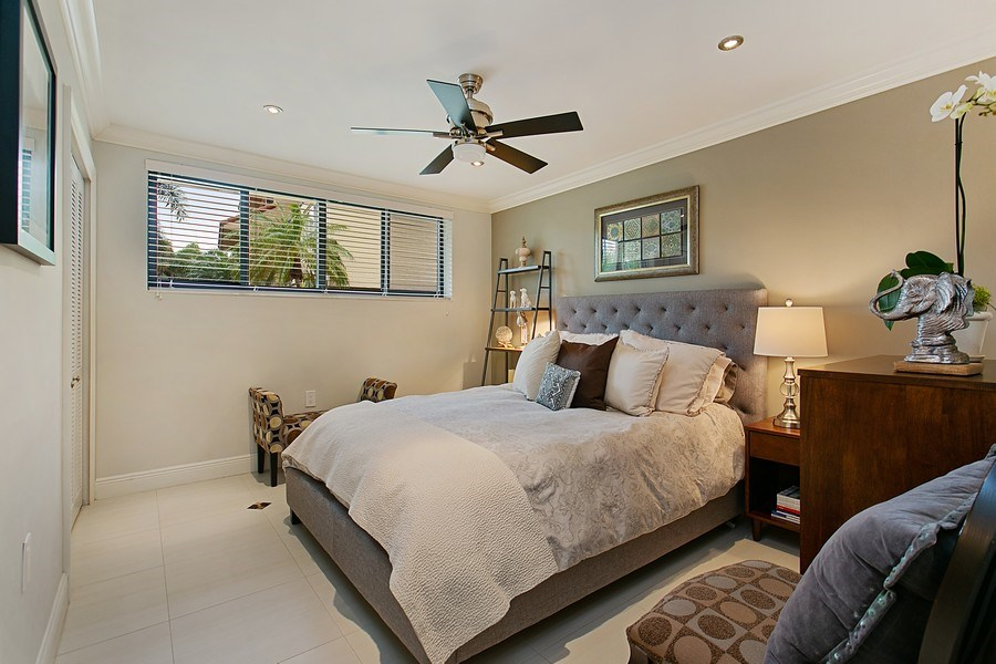 Real Estate Photography - 2000 S. Bayshore Drive, #43, Miami, FL, 33133 - Guest Bedroom/In Laws Ground Level