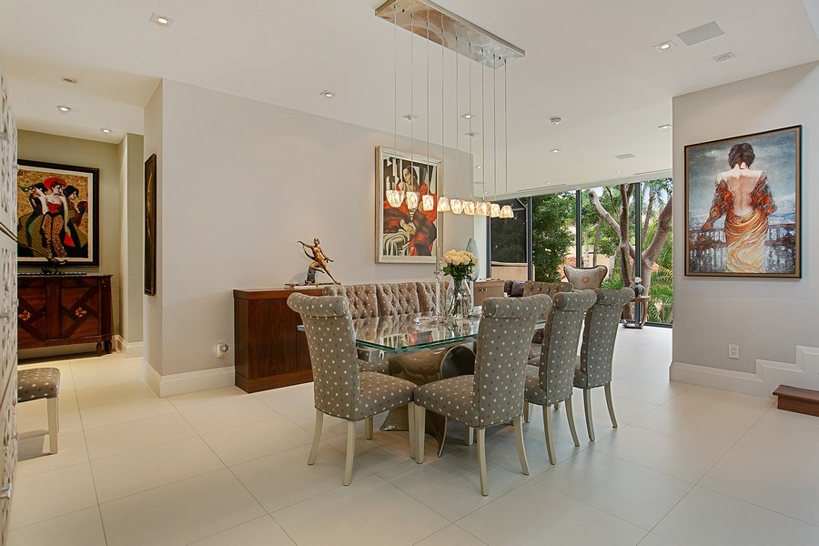 Real Estate Photography - 2000 S. Bayshore Drive, #43, Miami, FL, 33133 - Dining Room