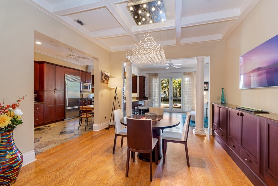 Real Estate Photography - 700 SE 25th Avenue, Fort Lauderdale, FL, 33301 - Dining Room