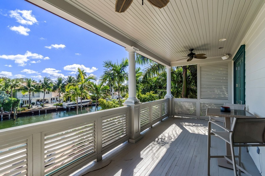 Real Estate Photography - 700 SE 25th Avenue, Fort Lauderdale, FL, 33301 - Balcony