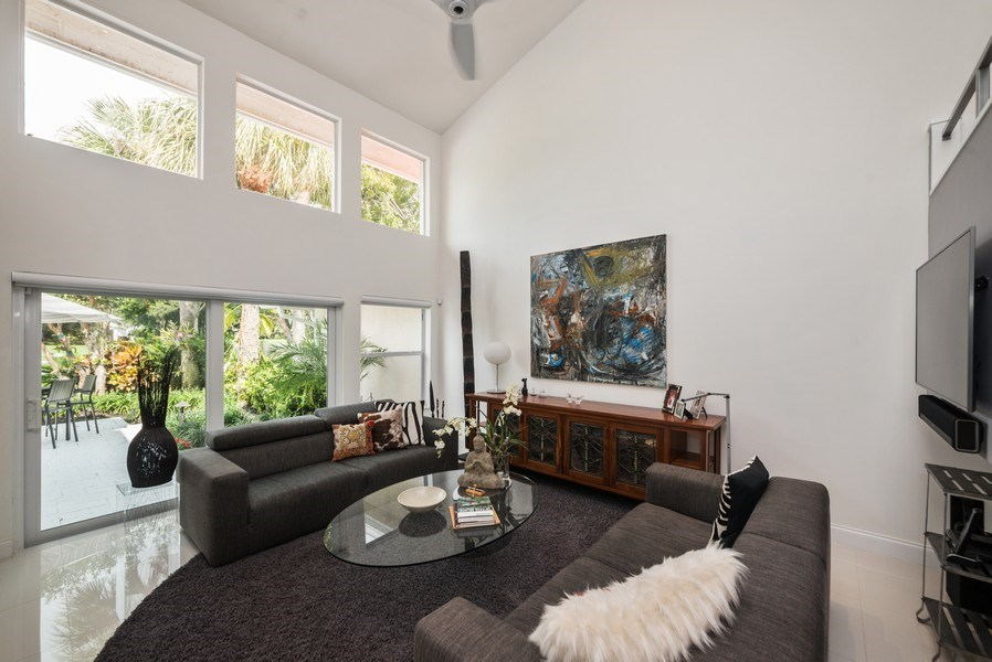 Real Estate Photography - 2147 NW 53rd Street, Boca Raton, FL, 33496 - Living Room
