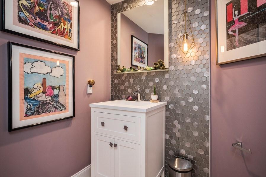 Real Estate Photography - 2147 NW 53rd Street, Boca Raton, FL, 33496 - Powder Room