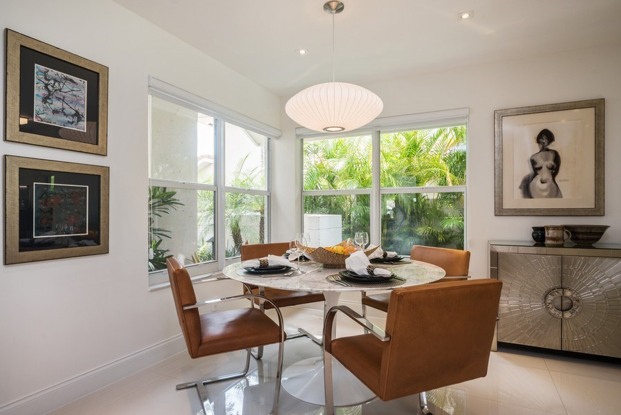 Real Estate Photography - 2147 NW 53rd Street, Boca Raton, FL, 33496 - Dining Room