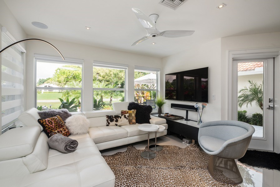 Real Estate Photography - 2147 NW 53rd Street, Boca Raton, FL, 33496 - Family Room