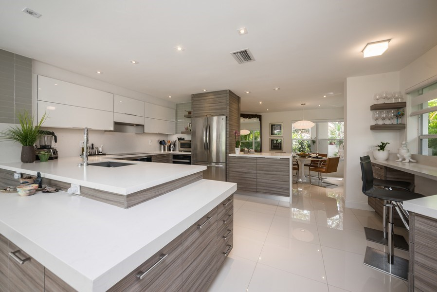Real Estate Photography - 2147 NW 53rd Street, Boca Raton, FL, 33496 - Kitchen / Dining Room