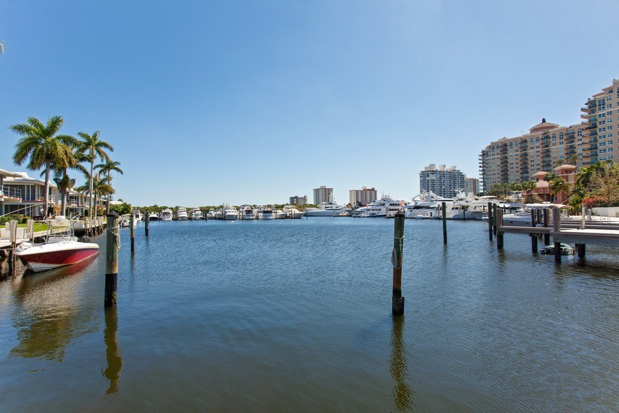 Real Estate Photography - 1124 Seminole Drive, #2A, Fort Lauderdale, FL, 33304 - Intracoastal View