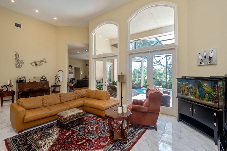 Real Estate Photography - 10467 Stonebridge Blvd., Boca Raton, FL, 33498 - Living Room