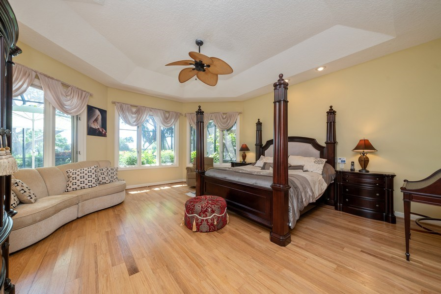 Real Estate Photography - 10467 Stonebridge Blvd., Boca Raton, FL, 33498 - Master Bedroom