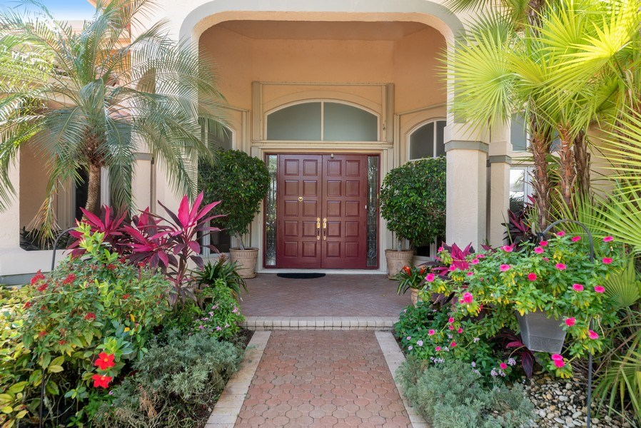 Real Estate Photography - 10467 Stonebridge Blvd., Boca Raton, FL, 33498 - Entrance