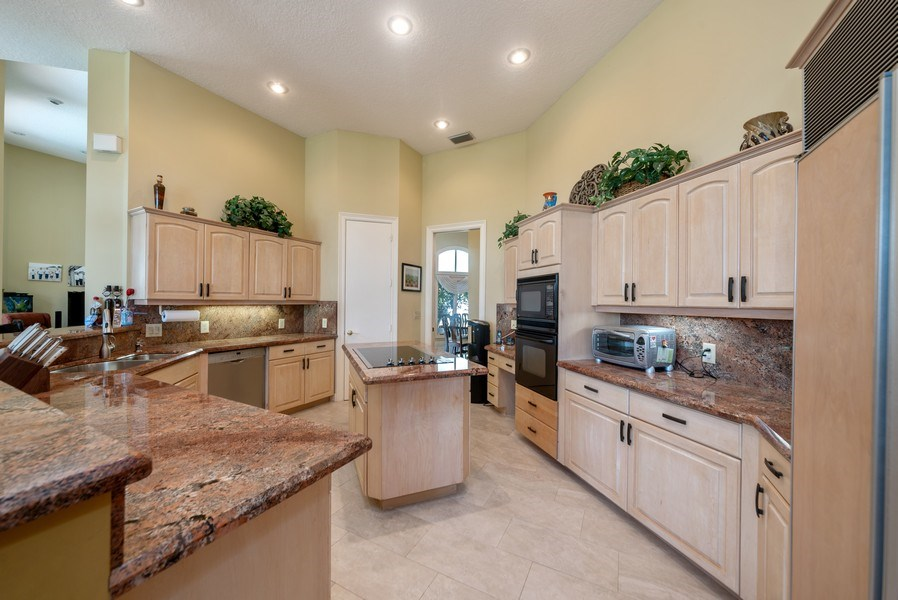 Real Estate Photography - 10467 Stonebridge Blvd., Boca Raton, FL, 33498 - Kitchen