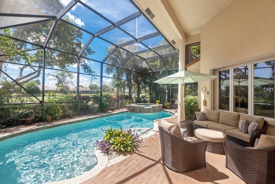 Real Estate Photography - 10467 Stonebridge Blvd., Boca Raton, FL, 33498 - Patio