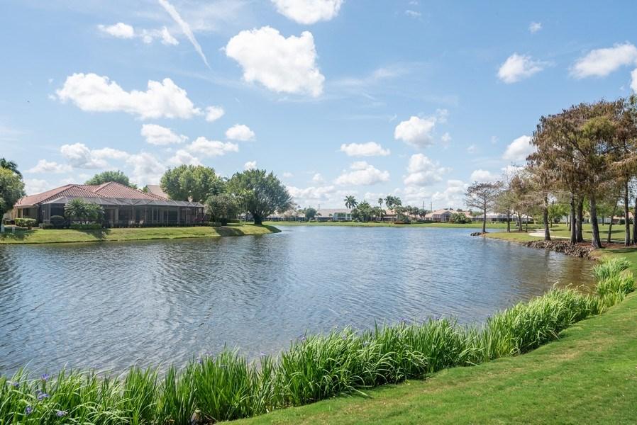 Real Estate Photography - 10467 Stonebridge Blvd., Boca Raton, FL, 33498 - Lake View
