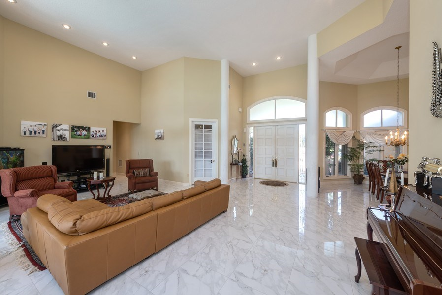 Real Estate Photography - 10467 Stonebridge Blvd., Boca Raton, FL, 33498 - Living Room / Dining Room