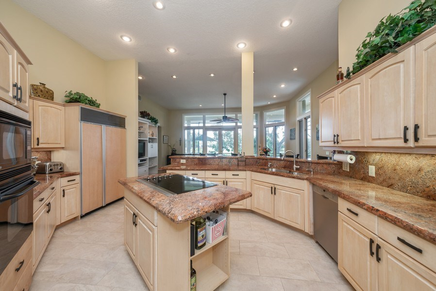 Real Estate Photography - 10467 Stonebridge Blvd., Boca Raton, FL, 33498 - Family Room / Kitchen