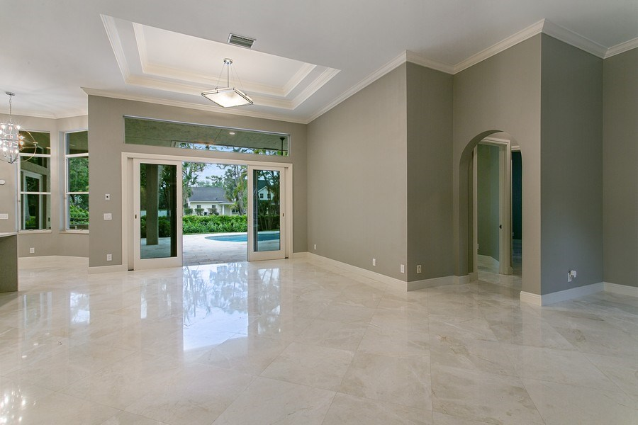 Real Estate Photography - 2440 Whispering Oaks Lane, Delray Beach, FL, 33445 - Dining Area
