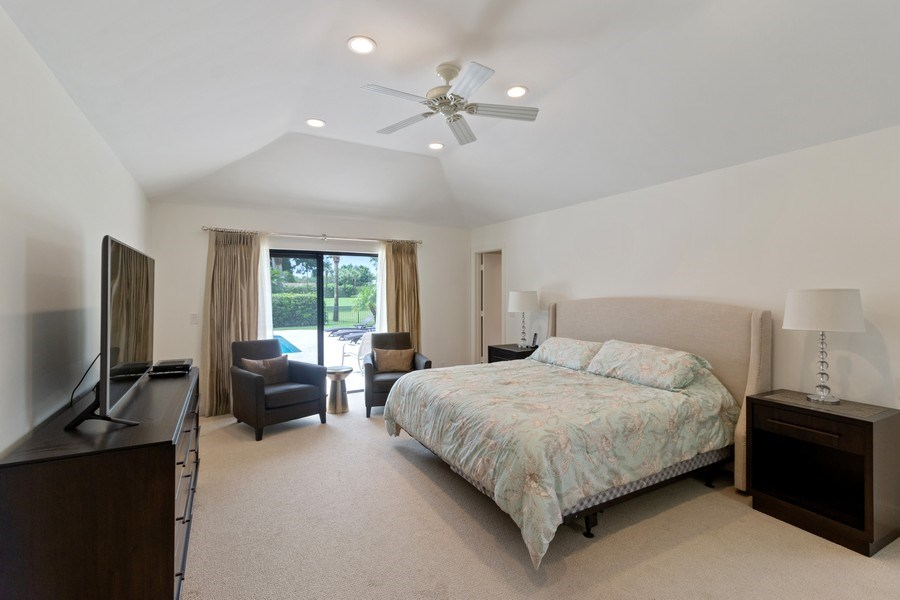 Real Estate Photography - 4508 Bocaire Blvd., Boca Raton, FL, 33487 - Master Bedroom