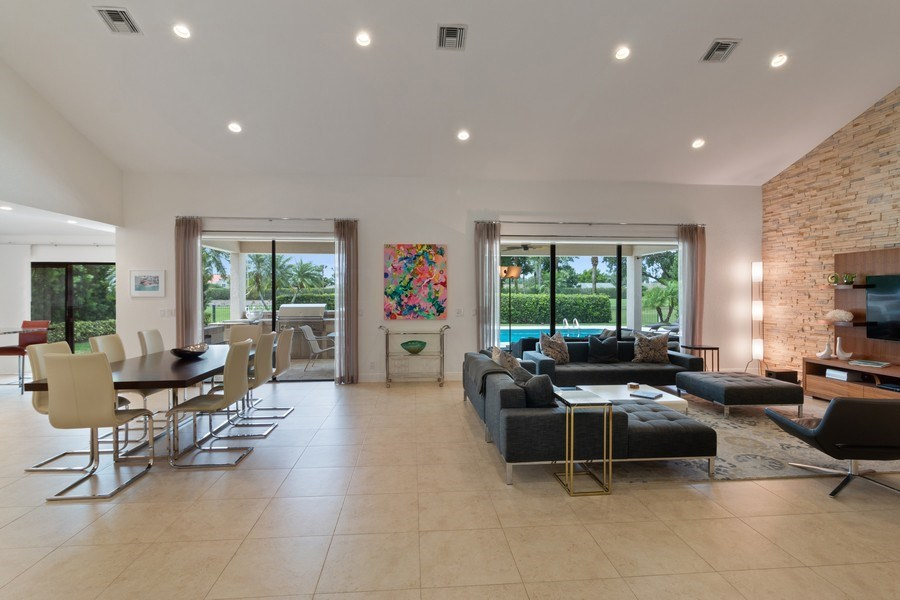 Real Estate Photography - 4508 Bocaire Blvd., Boca Raton, FL, 33487 - Great Room