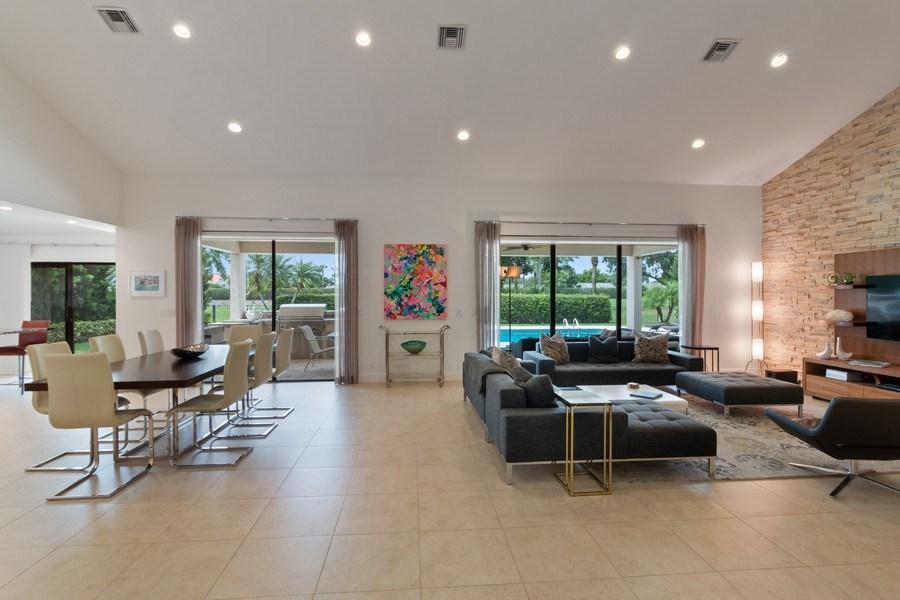 Real Estate Photography - 4508 Bocaire Blvd., Boca Raton, FL, 33487 - Great Room