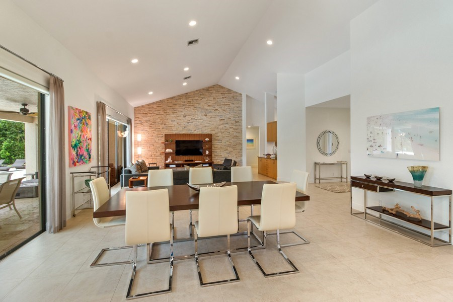 Real Estate Photography - 4508 Bocaire Blvd., Boca Raton, FL, 33487 - Dining Room