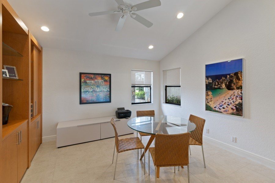 Real Estate Photography - 4508 Bocaire Blvd., Boca Raton, FL, 33487 - Den