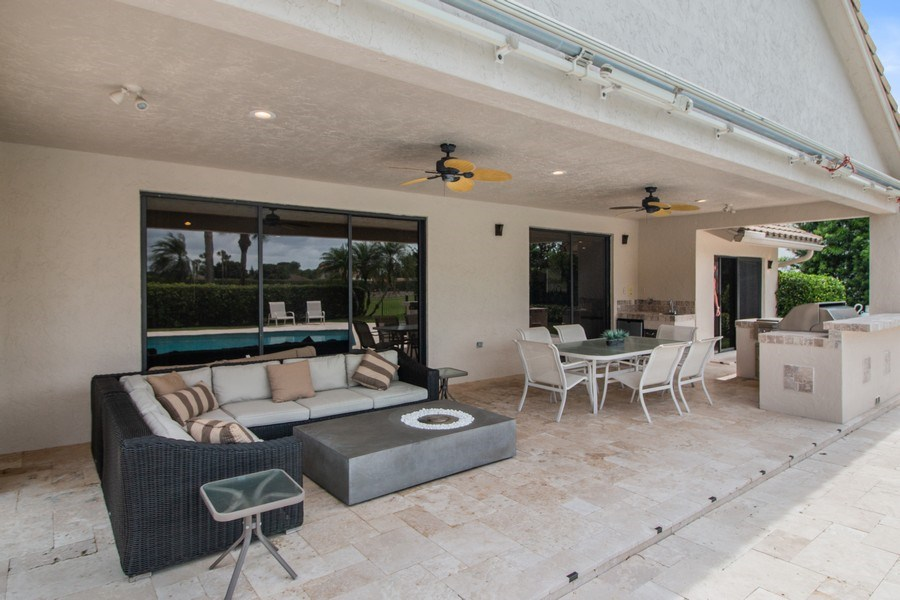 Real Estate Photography - 4508 Bocaire Blvd., Boca Raton, FL, 33487 - Patio