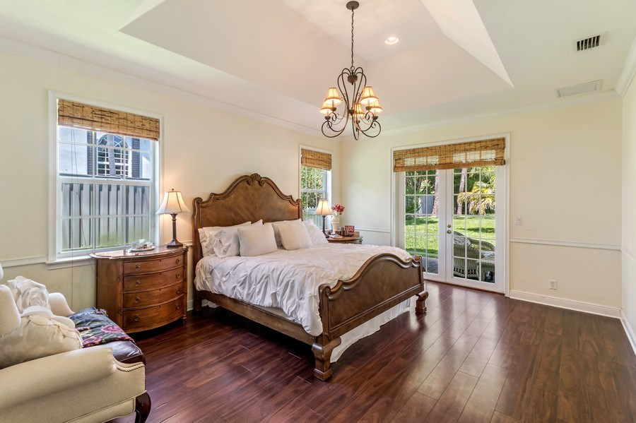 Real Estate Photography - 2425 Greenbriar Drive, Delray Beach, FL, 33445 - Master Bedroom
