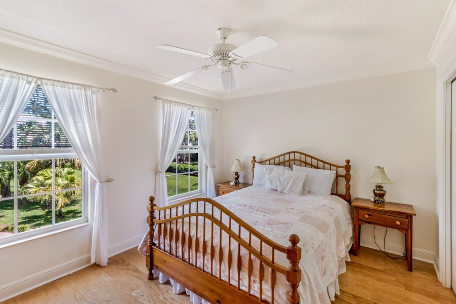 Real Estate Photography - 2425 Greenbriar Drive, Delray Beach, FL, 33445 - 3rd Bedroom