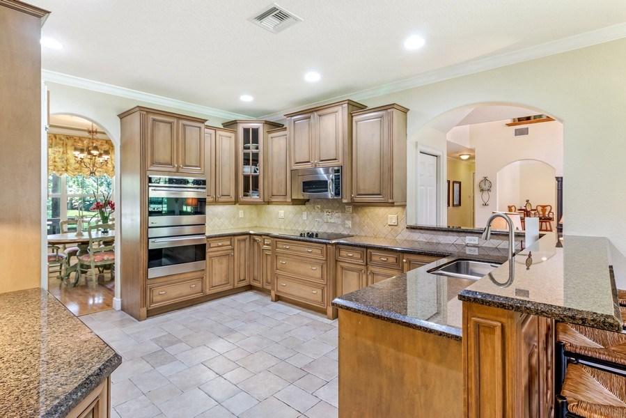 Real Estate Photography - 2425 Greenbriar Drive, Delray Beach, FL, 33445 - Kitchen