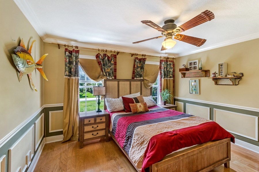 Real Estate Photography - 2425 Greenbriar Drive, Delray Beach, FL, 33445 - Bedroom