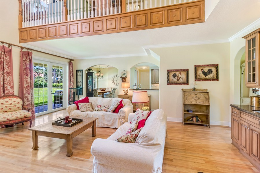 Real Estate Photography - 2425 Greenbriar Drive, Delray Beach, FL, 33445 - Family Room