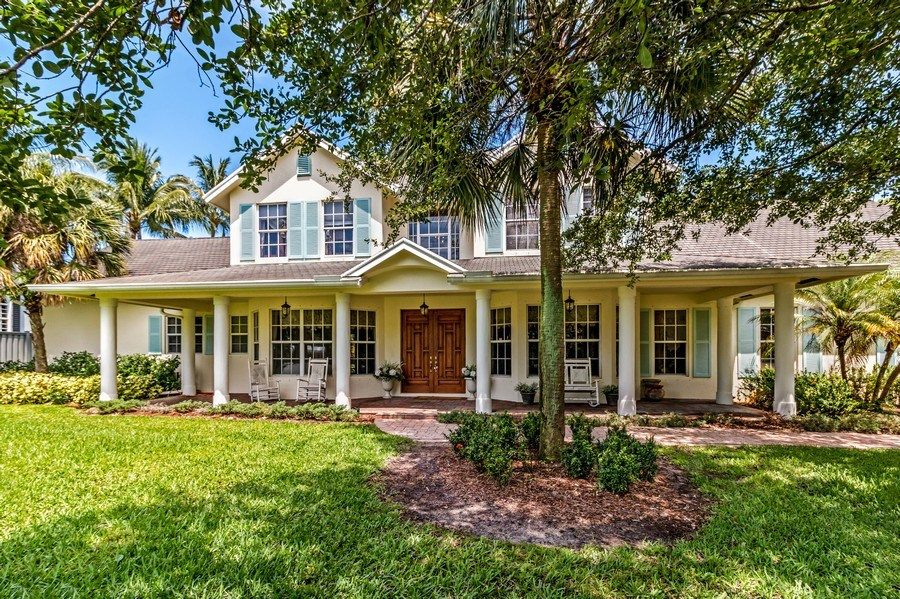Real Estate Photography - 2425 Greenbriar Drive, Delray Beach, FL, 33445 - Front View