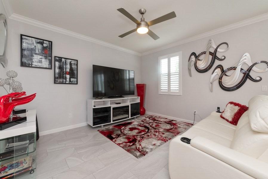 Real Estate Photography - 13045 Anthorne Lane, Boynton Beach, FL, 33436 - Living Room