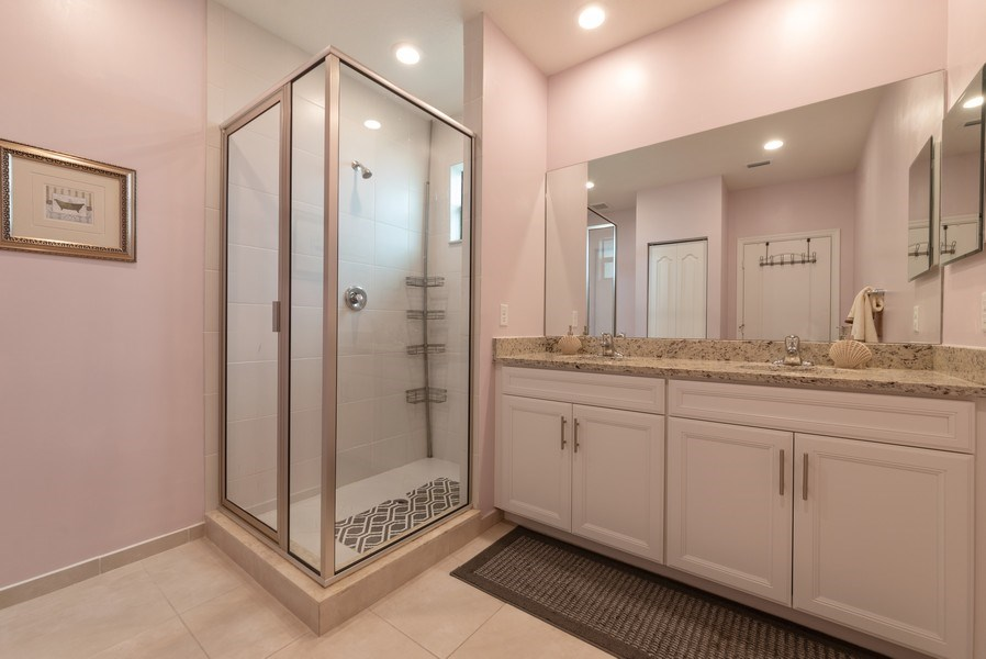 Real Estate Photography - 13045 Anthorne Lane, Boynton Beach, FL, 33436 - Master Bathroom