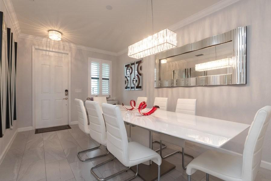 Real Estate Photography - 13045 Anthorne Lane, Boynton Beach, FL, 33436 - Foyer/Dining Room