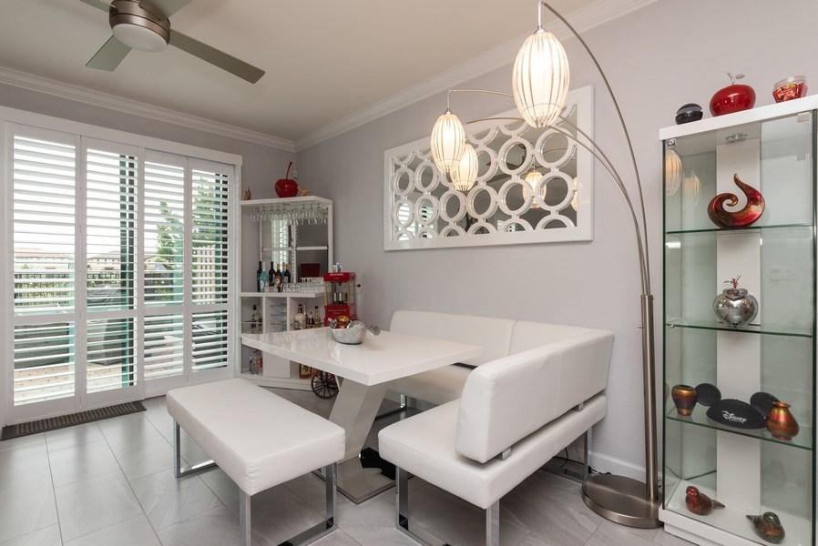 Real Estate Photography - 13045 Anthorne Lane, Boynton Beach, FL, 33436 - Breakfast Area