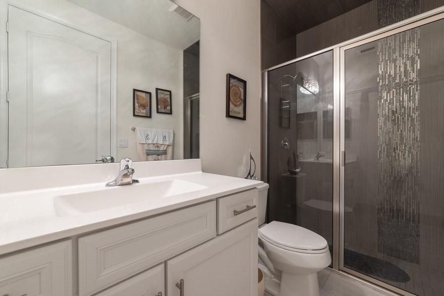 Real Estate Photography - 13045 Anthorne Lane, Boynton Beach, FL, 33436 - Downstairs Bathroom