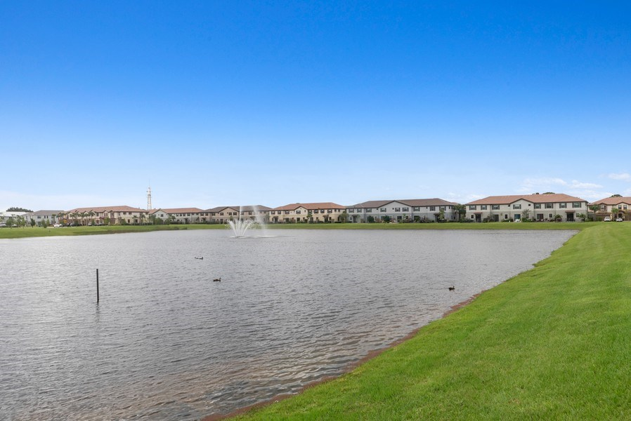 Real Estate Photography - 13045 Anthorne Lane, Boynton Beach, FL, 33436 - Cambria Park Lake