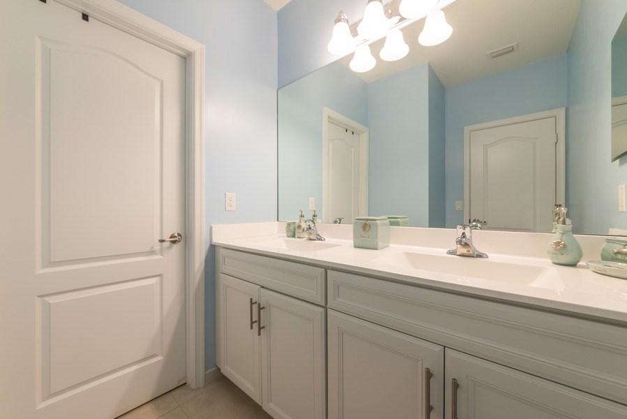 Real Estate Photography - 13045 Anthorne Lane, Boynton Beach, FL, 33436 - 2nd Bathroom