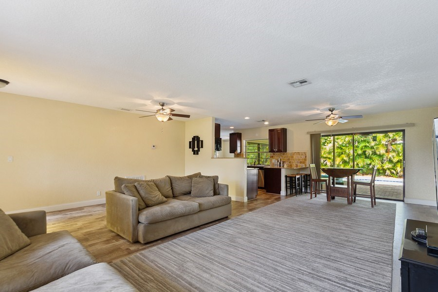 Real Estate Photography - 1199 NE 4th Avenue, Boca Raton, FL, 33432 - Living Room