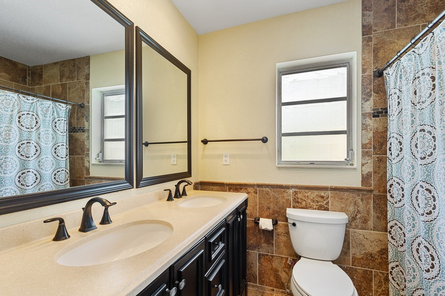 Real Estate Photography - 1199 NE 4th Avenue, Boca Raton, FL, 33432 - Master Bathroom