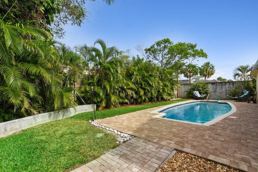 Real Estate Photography - 1199 NE 4th Avenue, Boca Raton, FL, 33432 - Back Yard