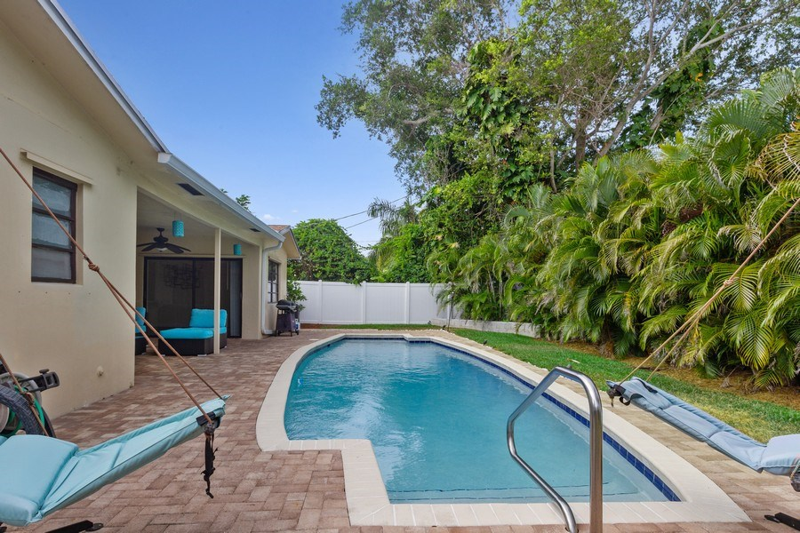 Real Estate Photography - 1199 NE 4th Avenue, Boca Raton, FL, 33432 - Pool