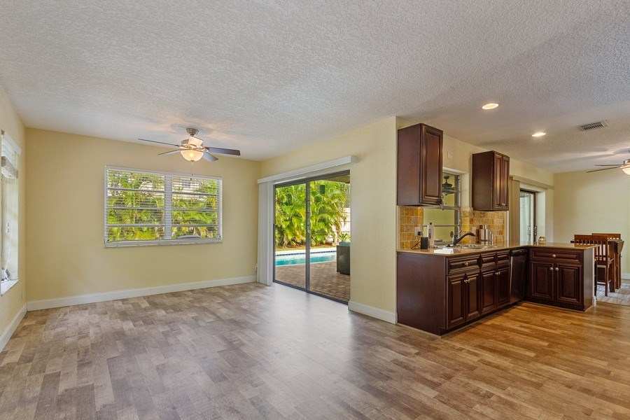 Real Estate Photography - 1199 NE 4th Avenue, Boca Raton, FL, 33432 - Family Room