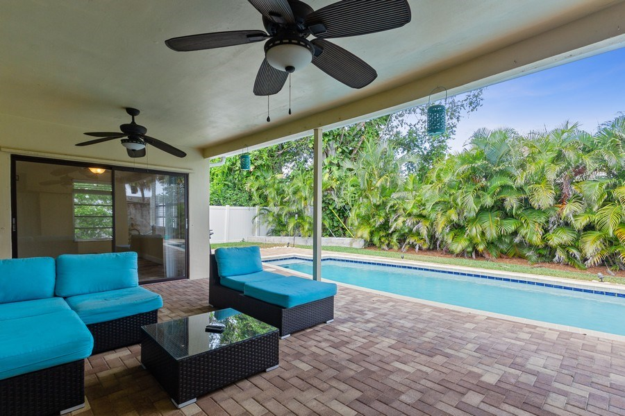 Real Estate Photography - 1199 NE 4th Avenue, Boca Raton, FL, 33432 - Patio