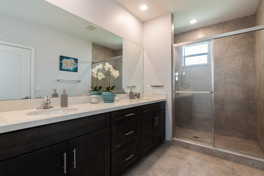 Real Estate Photography - 13010 Anthorne Lane, Boynton Beach, FL, 33436 - Master Bathroom