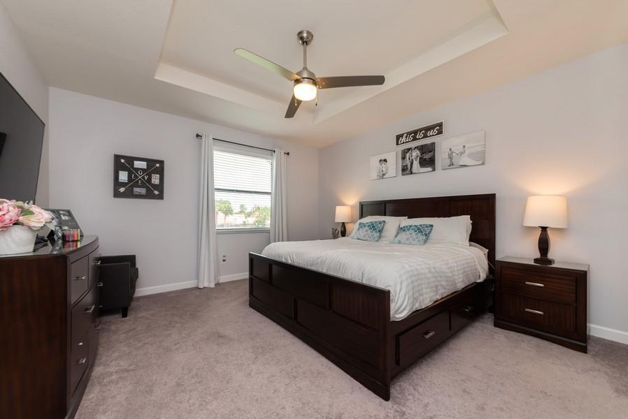 Real Estate Photography - 13010 Anthorne Lane, Boynton Beach, FL, 33436 - Master Bedroom