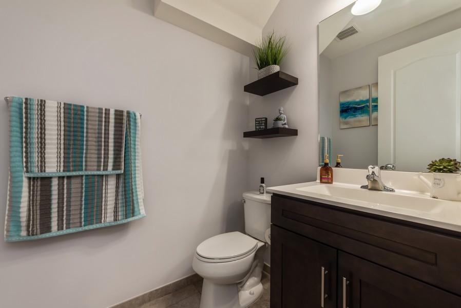 Real Estate Photography - 13010 Anthorne Lane, Boynton Beach, FL, 33436 - Powder Room