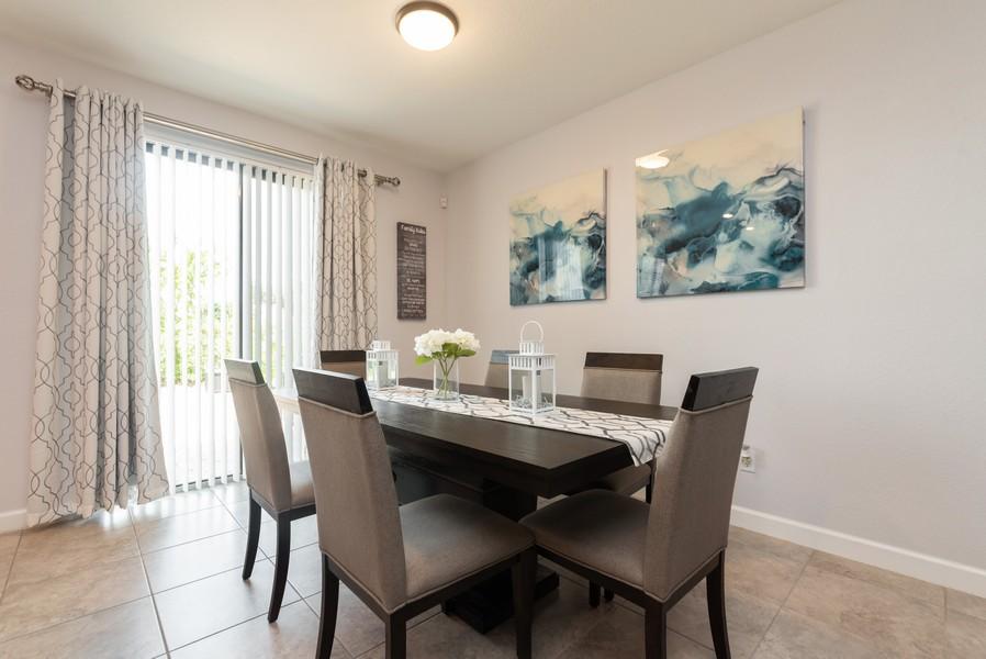 Real Estate Photography - 13010 Anthorne Lane, Boynton Beach, FL, 33436 - Dining Room
